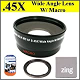 Best Big Mike's Macro Digital Cameras - 58mm 0.45x Wide Angle Lens with Macro For Review
