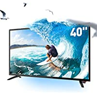 SANSUI TV LED Televisions 40 FHD DLED TV (1080p) with Flat Screen TV HDMI High Definition and Widescreen Monitor Display 3 x HDMI Ports (2018 Model)