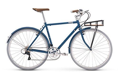 Raleigh Bikes Port Townsend City Utility Bike, 59cm/X-Large, Blue