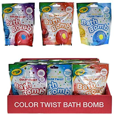 Crayola QQ851HBAZAP24 Bath Bomb in Blind Bag, Multicolor (Pack of 4): Toys & Games