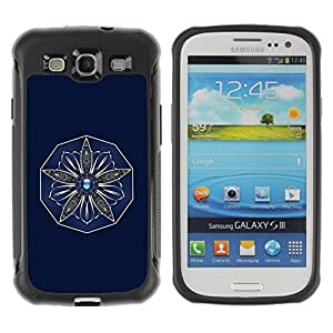 "Hypernova Defender Series TPU protection Cas Case Coque pour Samsung Galaxy S3 III I9300 [Flor""]"