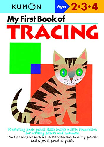 My First Book Of Tracing (Kumon Workbooks) (Cut And Paste Math Worksheets For First Grade)
