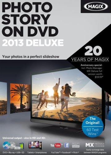 MAGIX PhotoStory on DVD 2013 Deluxe [Download]