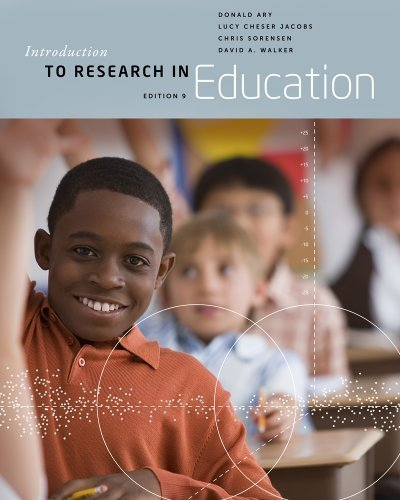 Introduction to Research in Education by Ary, Donald Published by Cengage Learning 9th (ninth) edition (2013) Hardcover