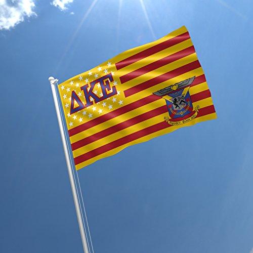 Delta Kappa Epsilon Licensed Greek Life Garage Hangar Basement Flag 3×5 Feet For Sale