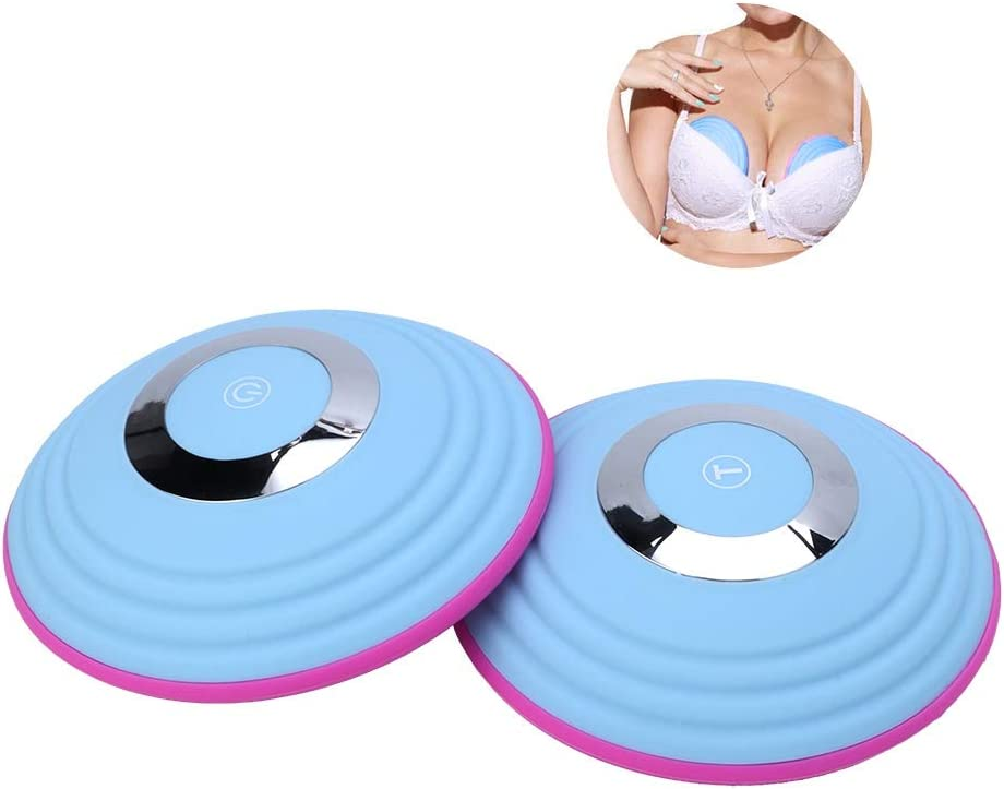 Breast Massager, Wireless Electric Breast Massager Chest Enlargement Anti Sagging Breast Massage Machine, New Year's Gift