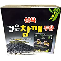 Sahmyook Black Sesame Soy Milk, 6.42 Fl. Ounce (Pack of 16)