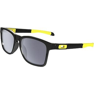 OAKLEY Catalyst Gafas de sol para Unisex, Negro/Amarillo, 0