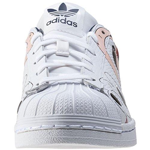 adidas Superstar RO W Calzado 5,0 white/indigo