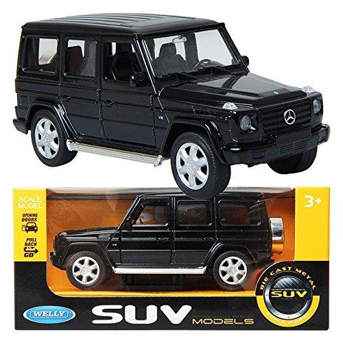 WELLY 1:32 Mercedes-Benz G-Class / Black / Children / Toy / DIE-CAST Toy dgboy .