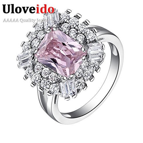 [delatcha Jewelry Famous Purple Ring Jewelry Acessorios with Created Vintage Bague and Anel J550] (Famous Trios Costumes)