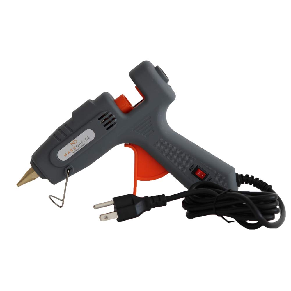 MackOffice Professional Glue Gun Full Size (Not Mini) Hot Melt Glue Gun 60/100W Dual Power High Temp Heavy Duty Melt Glue Gun best for Work | Home and for Arts & Crafts Use,Christmas Decoration/Gifts by MACKOFFICE (Image #7)