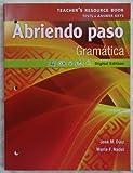img - for Pearson - Abriendo paso: Gramatica - Teacher's Resource Book book / textbook / text book