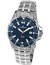 Jacques Lemans Men's Steel Bracelet & Case Automatic Blue Dial Watch 1-1910B