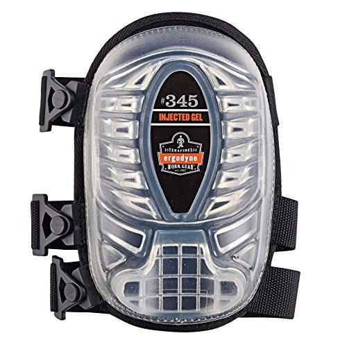 Pads Knee Proflex Gel (345 Black Long Cap Injected Gel Knee Pad)