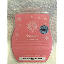 Scentsy Pink Haze Wickless Candle Tart Warmer Wax Bar, 3.2 Fl Oz, 8 Squares