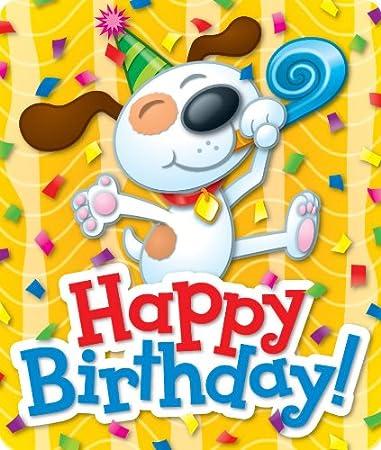 Amazon.com: Feliz Cumpleaños (pegatinas): Carson-Dellosa ...
