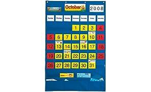 PlayMonster Lauri Calendar Pocket Chart (English/Spanish)