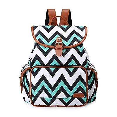f750a6573b4c hot sale 2017 ECOSUSI Backpack Cute School College Casual Daypack Canvas  Bookbag for Teens Girls