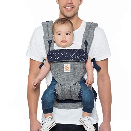 Ergobaby 360 All Carry Positions Award-Winning Ergonomic Baby Carrier, Star Dust