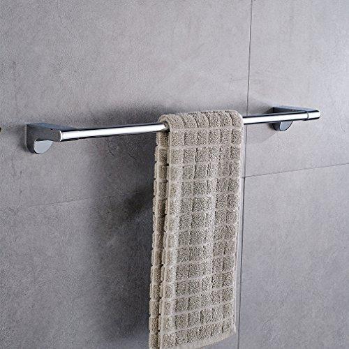 Aruhe® Wand-Handtuchhalter Handtuchstange Badetuchhalter aus Edelstahl für Bad Wandhandtuchhalter Türhandtuchhalter 1 Stange Wandmontage