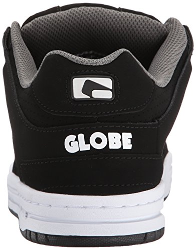Skateboard black Globe Black Scribe white Shoes nHfqSBYx