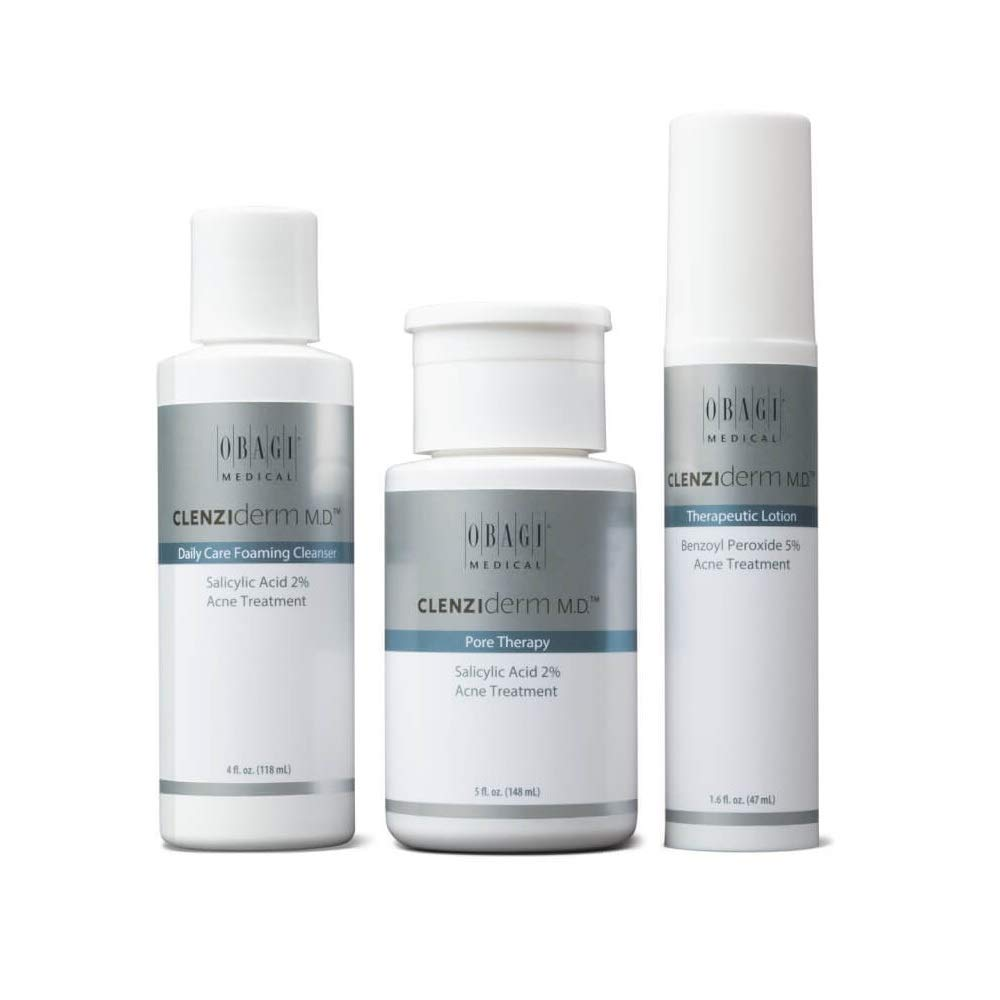 CLENZIderm Acne Therapeutic System Kit for Normal To Oily Skin