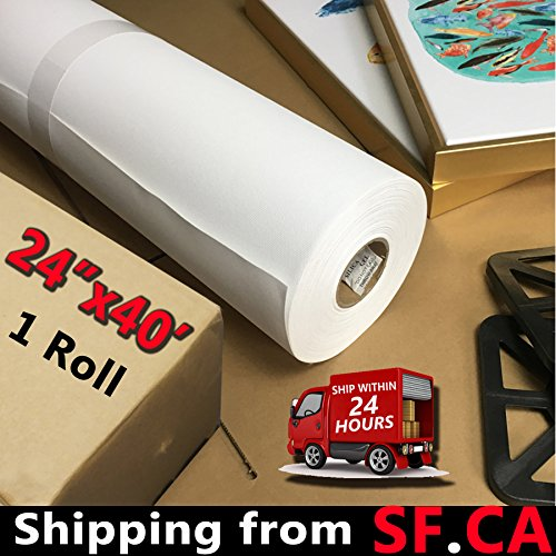 Digital Printing Waterproof High- Gloss Polyester Cotton Inkjet Canvas for HP Latex Printers (24