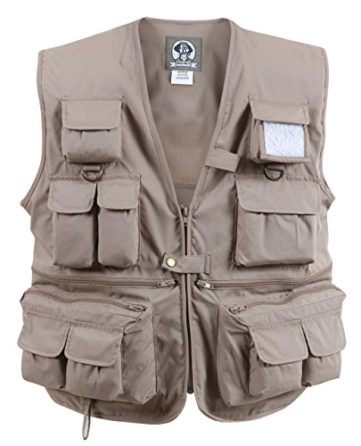 Rothco Uncle Milty Vest - Khaki, Medium