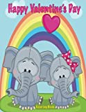 img - for Happy Valentine's Day Coloring Book book / textbook / text book