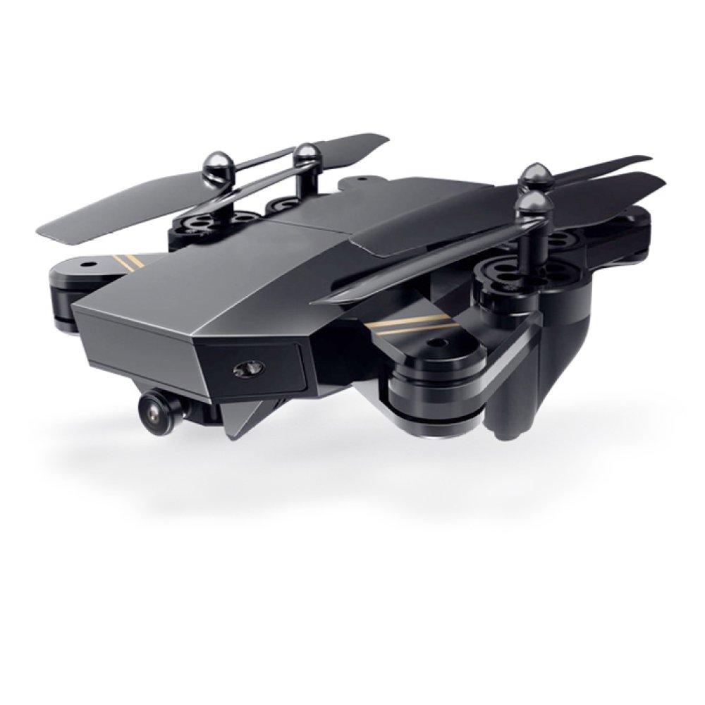 Drohne Drohnen 200 Watt 120 ° Weitwinkel FPV Faltbare RC Quadcopter Drone 4-Achsen-Gyro Höhe Halten Fernbedienung Selfie Drohnen Mit 720 P HD Kamera (Set Höhe),3Batteries