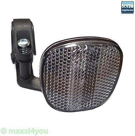 Maxxi4you Foco Delantero Bicicleta Reflector Delant. Abrazadera ...