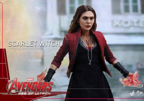 Hot Toys Marvel Avengers Age of Ultron Scarlet Witch 1/6 Scale Figure