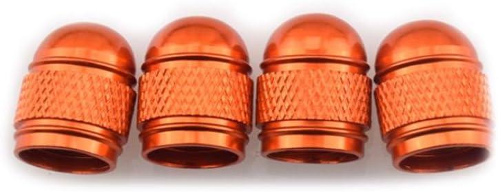Saingace Tire Caps For Cars 4x Aluminum Bullet Car Truck Air Port Cover Tire Rim Valve Wheel Stem Caps Black