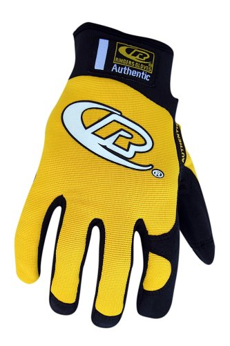 Ringers Gloves 134-12 Authentic Glove, Yellow, XX-Large