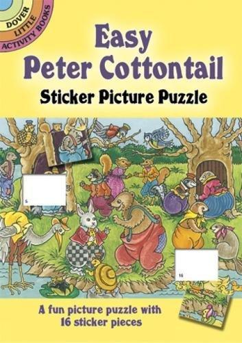 Read Online Easy Peter Cottontail Sticker Picture Puzzle (Dover Little Activity Books) pdf epub