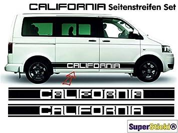 SUPERSTICKI VW Bus T4 T5 California XL Side Stripes Stickers
