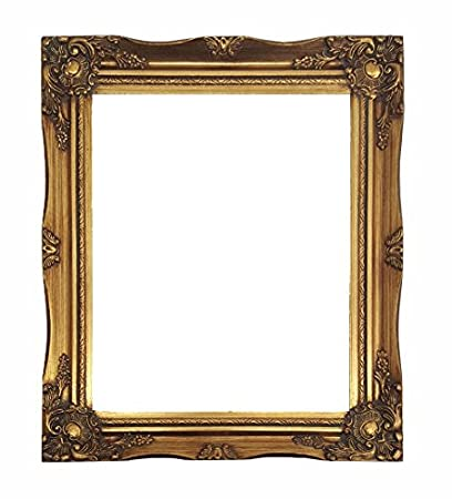 Amazon Impactint Ornate Baroque Gold Painted Wooden Picture