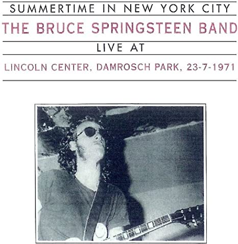 Bruce Springsteen - Damrosch Park, Lincoln Center, New
