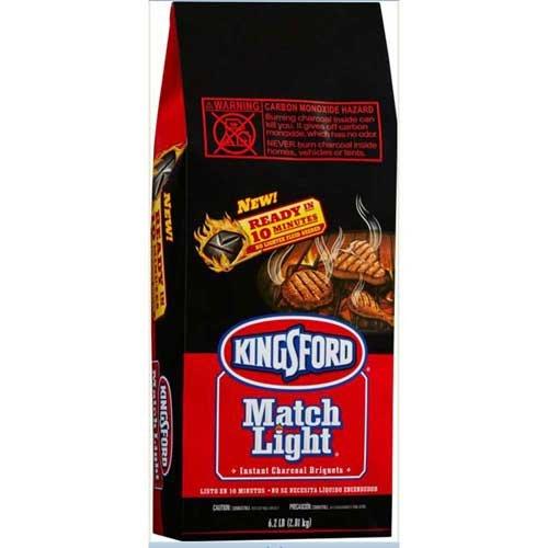 Match Light Instant Charcoal Briquets, 6.2 Pound - 6 per case.