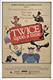 "Twice Upon a Time 1983 Authentic 27"" x 41"" Original Movie Poster Fine, Very Fine Marshall Efron Animation U.S. One Sheet"