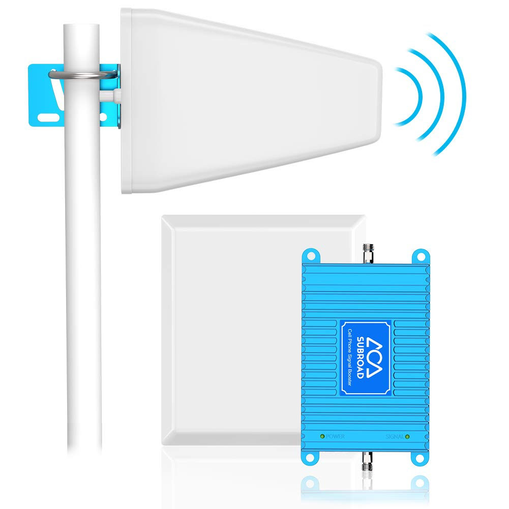 Verizon Signal Booster 4G LTE Cell Phone Signal Booster Subroad 700Mhz Band 13 Mobile Cellular Repeater Amplifier Kit for Home, Office Signal Extend Coverage Up to 5,000 Sq Ft by subroad