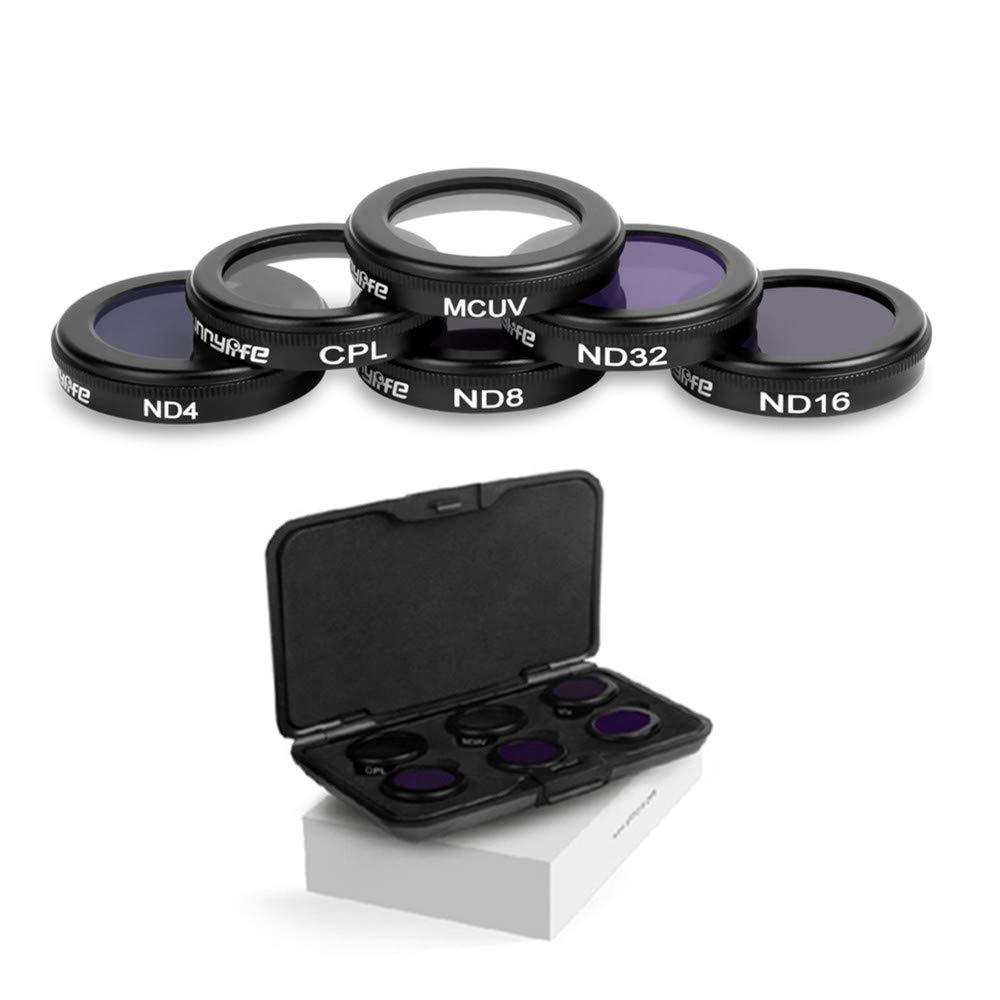 GDD2018 Mavic 2 Zoom Linsen Filter Objektiv Filter für DJI Mavic 2 Zoom Drone (MCUV CPL ND4 ND8 ND16 ND32)