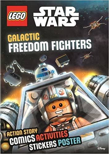 LEGO® Star Wars: Galactic Freedom Fighters (Sticker Poster Book)