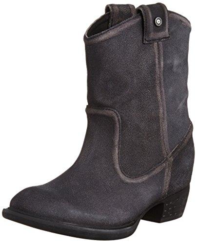 Diesel Women's Cannalis Ladala Boot, Black, 8.5 M US