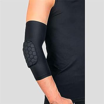 Honeycomb Pad Crashproof Basketball Shooting Arm Sleeve Elbow Support Protector