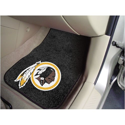 Fanmats Washington Redskins Team 2 Piece Car Mats ()
