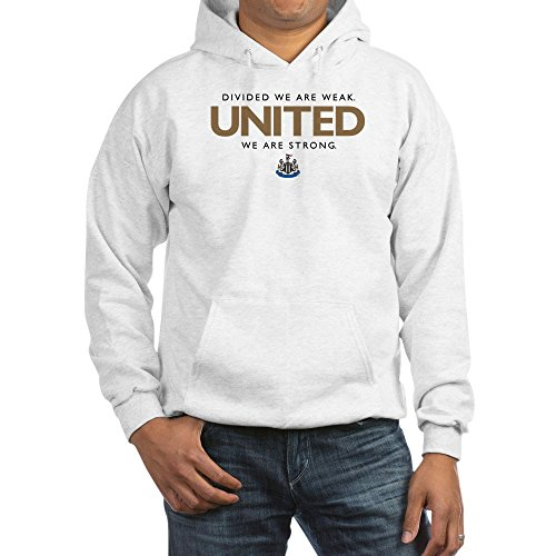 (CafePress Newcastle United Pullover Hoodie, Classic & Comfortable Hooded Sweatshirt White )