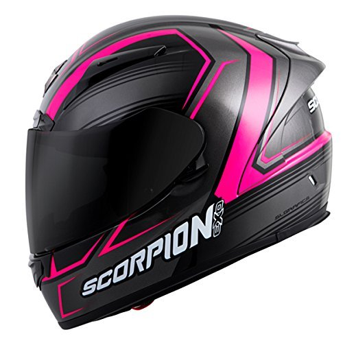Scorpion EXO-R2000 Launch Adult Street Racing Motorcycle Helmet - Phantom / Large