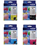 Brother LC203 High Yield Ink Cartridge Set, Black, Cyan, Magenta, Yellow